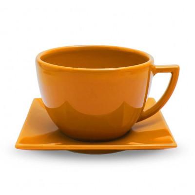 Talpus puodelis su lėkštute