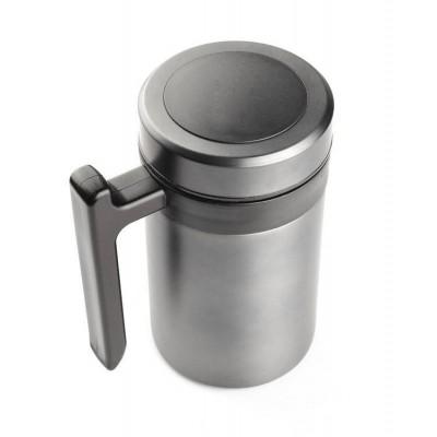 Nerūdijančio plieno termo puodelis su rankenėle TP64