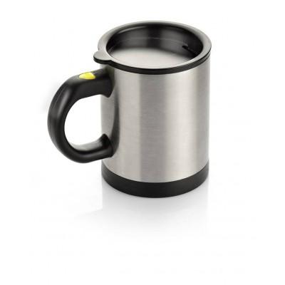 Nerūdijančio plieno puodelis su maišytuvu P1