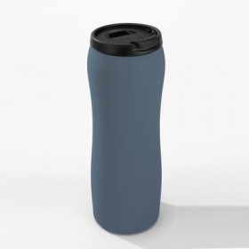 Matinis keramikinis reklaminis puodelis VOLUMEMAT