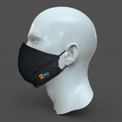 Apsauginė kaukė su klostėmis FOLD su logotipu
