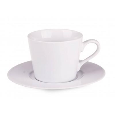 Reklaminis puodelis su lėkštute PL2