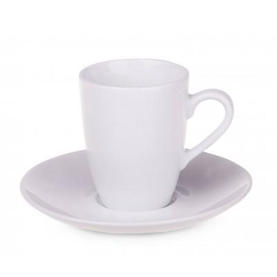 Reklaminis puodelis su lėkštute PL4