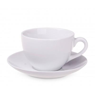 Reklaminis puodelis su lėkštute PL5