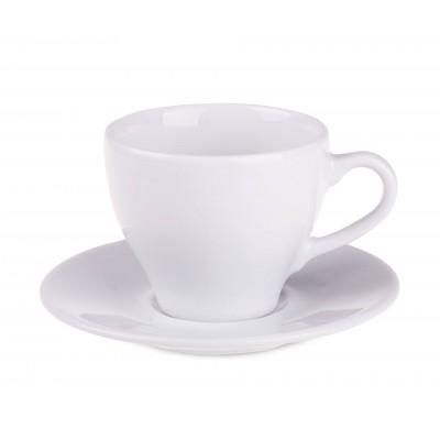Reklaminis puodelis su lėkštute PL6