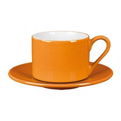 Reklaminis puodelis su lėkštute PL23