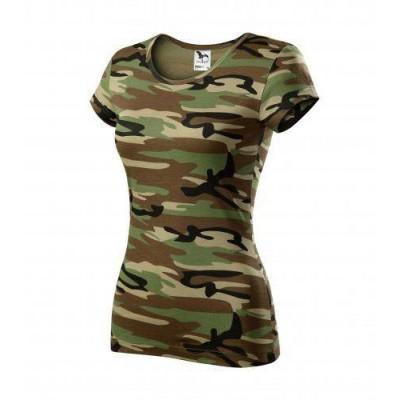 Kamufliažiniai marškinėliai ADM1