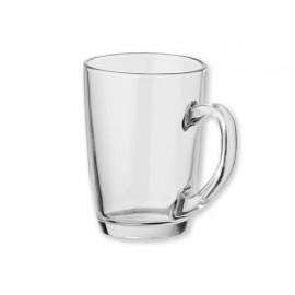 Stikliniai puodeliai ir stiklinės