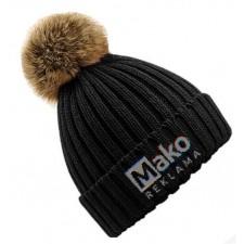 Reklaminės žieminės kepurės su logotipu ar užrašu