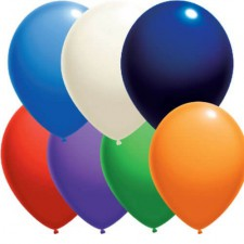 Matiniai lateksiniai balionai su logotipu