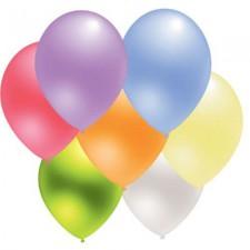 metalinio blizgesio balionai su logotipo spauda iš abiejų pusių