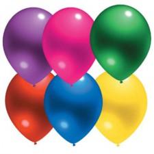 kristalinio blizgesio balionai su logotipo spauda