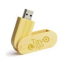 Medinės USB atmintinės