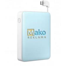 Plastikinės išorinės baterijos su Jūsų logotipu, užrašu, prekės ženklu