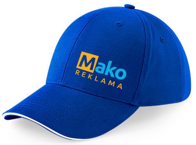 reklaminė kepurėlė su logotipu Mako reklama