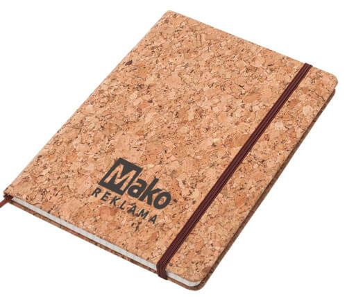 reklaminis bloknotas su logotipu Mako reklama