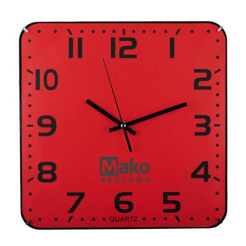 reklaminis laikrodis su logotipu Mako reklama