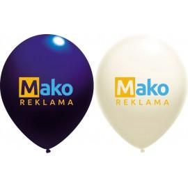 reklaminis balionas su logotipu Mako reklama
