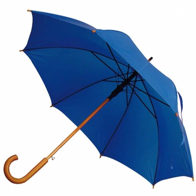 reklaminis skėtis su logotipu Mako reklama